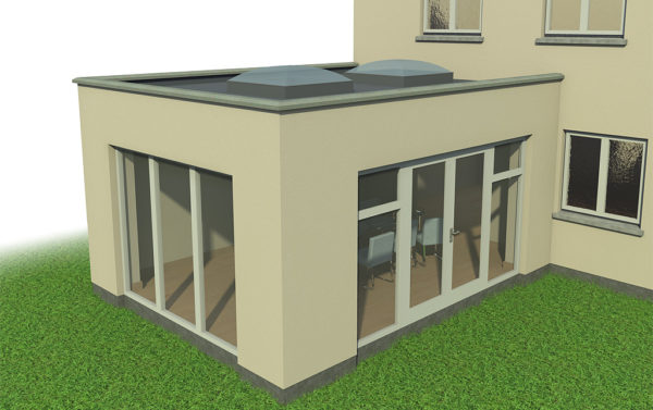 Extension of a existing house